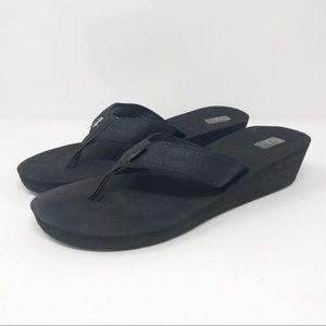 Teva Mush Wedge Flip Flops                T1-274-2